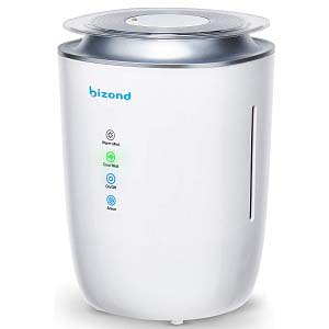 BIZOND Ultrasonic Humidifier Ultra Quiet air purifer