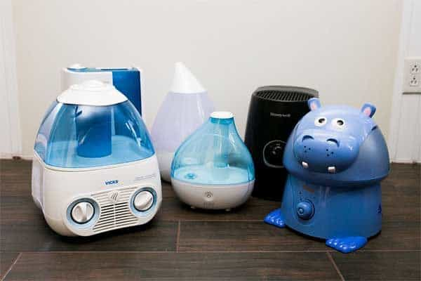 Humidifier in Bedroom