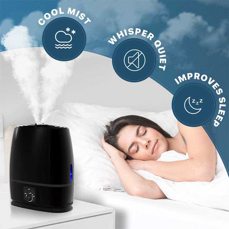 Where to Place Humidifier in Bedroom
